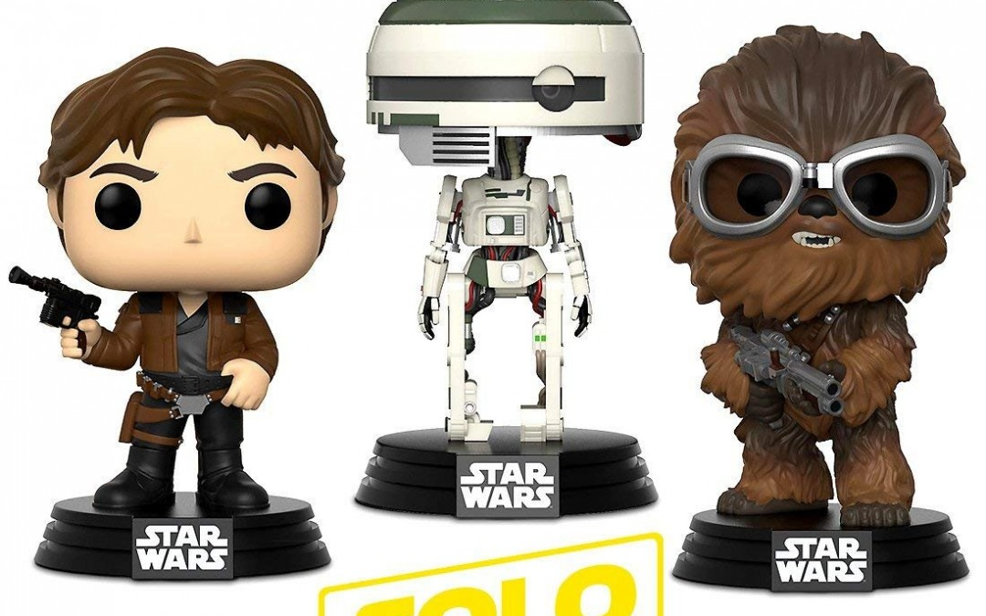 New Solo Movie Funko Han, Chewie, and L3-37 Warp Gadgets Bundle now available!