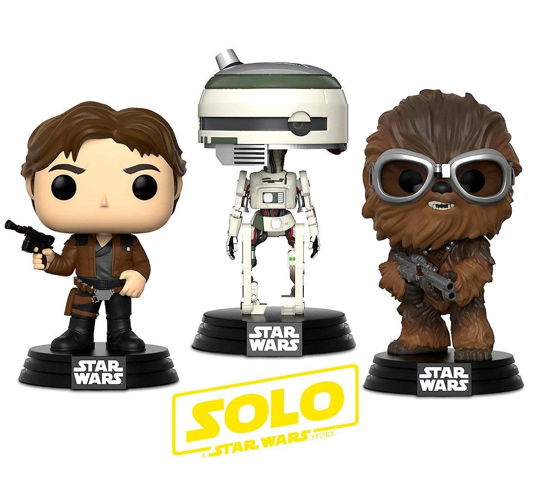 Solo: ASWS FP Han, Chewie, and L3-37 BHT Warp Gadgets Bundle