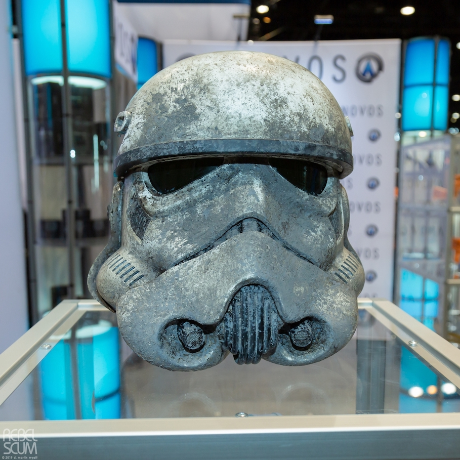 Solo: ASWS mperial Stormtrooper (Muddy) Helmet Accessory 1