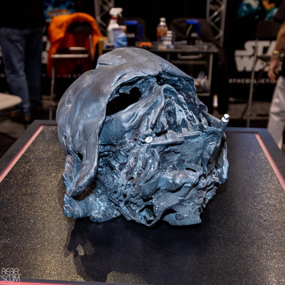 Darth Vader's character helmet