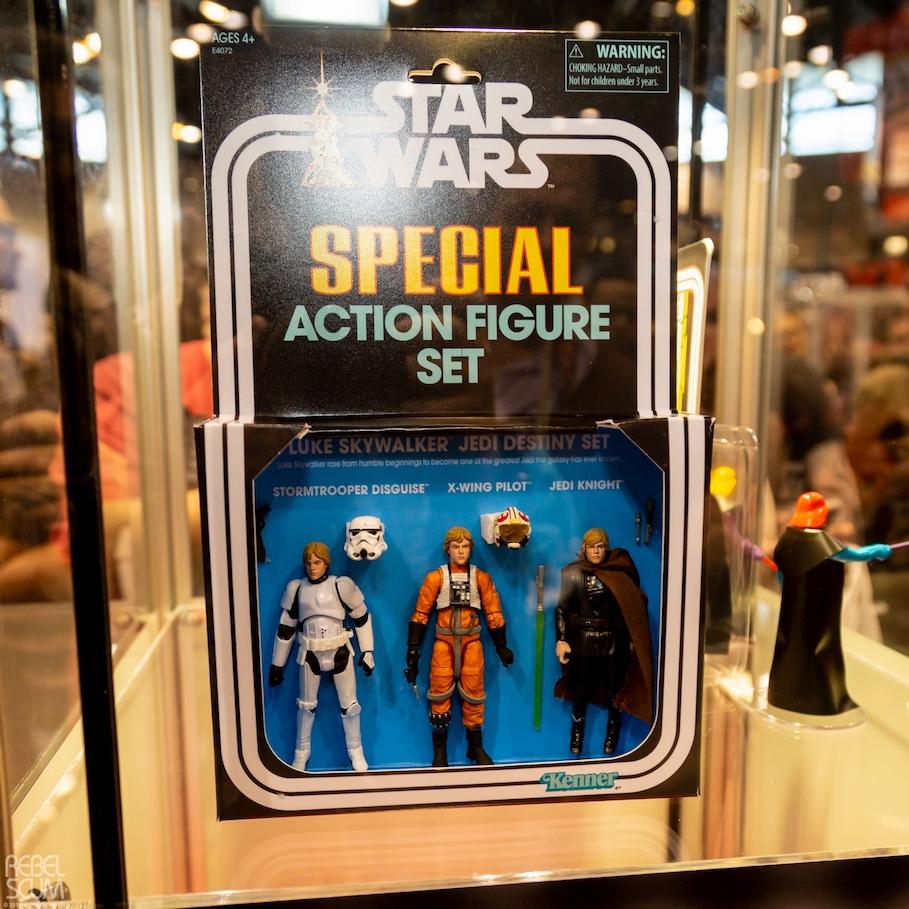 Luke Skywalker Vintage Figure 3-Pack