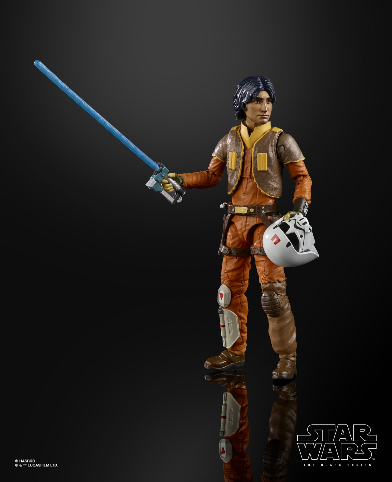 SWR Ezra Bridger Black Series Figure 2