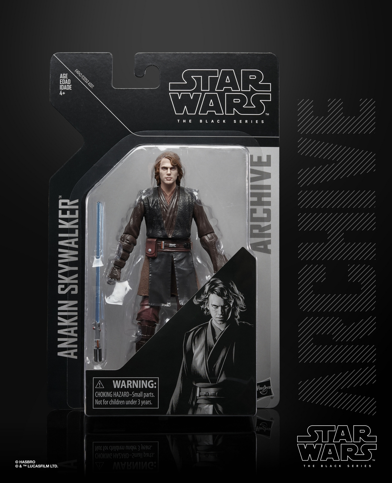 ROTS Anakin Skywalker Archive Black Series Figure 1