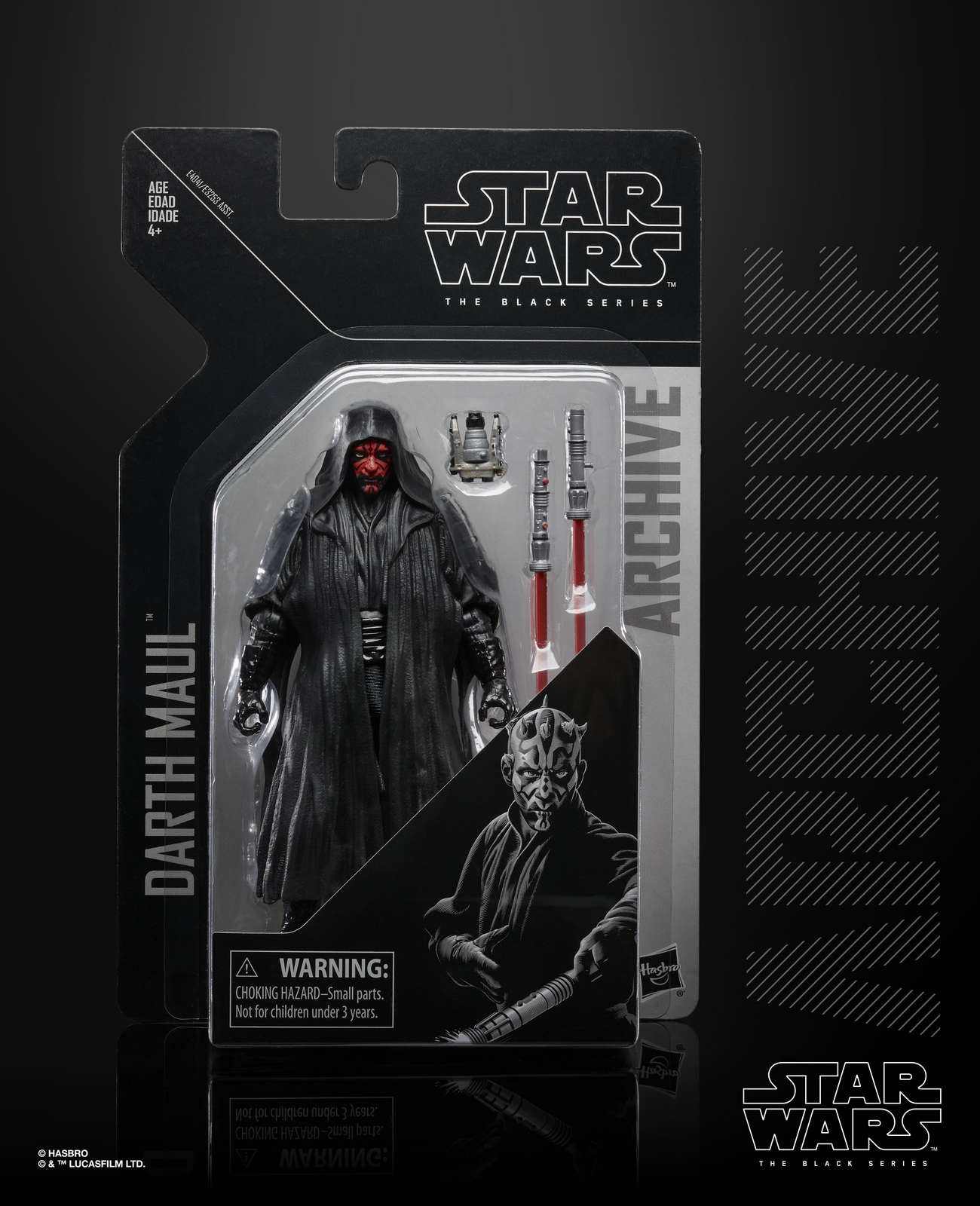 TPM Darth Maul Archive Black Series Figure 1