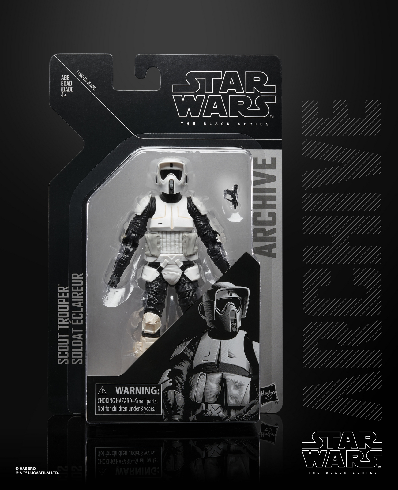 ROTJ Imperial Scout Trooper Archive Black Series Figure 1