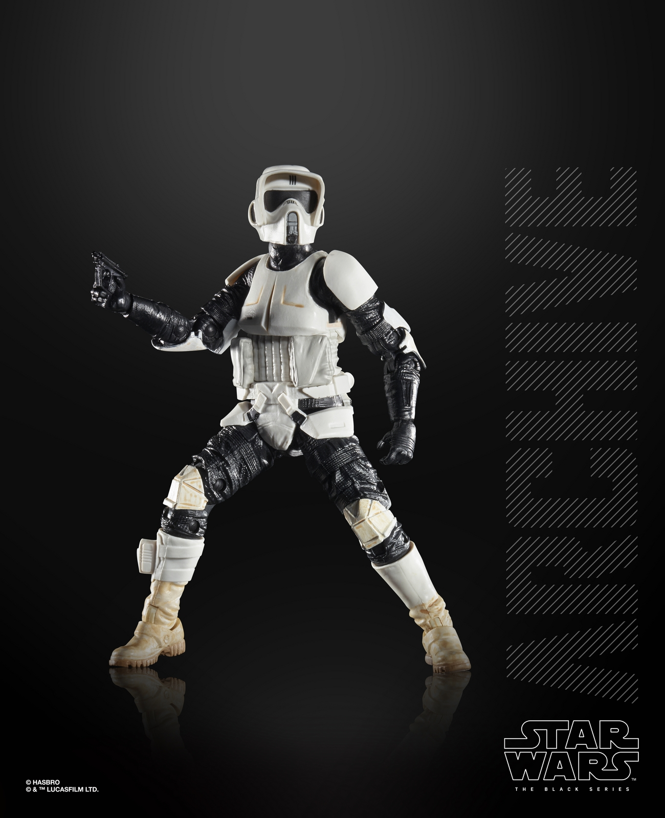 ROTJ Imperial Scout Trooper Archive Black Series Figure 2