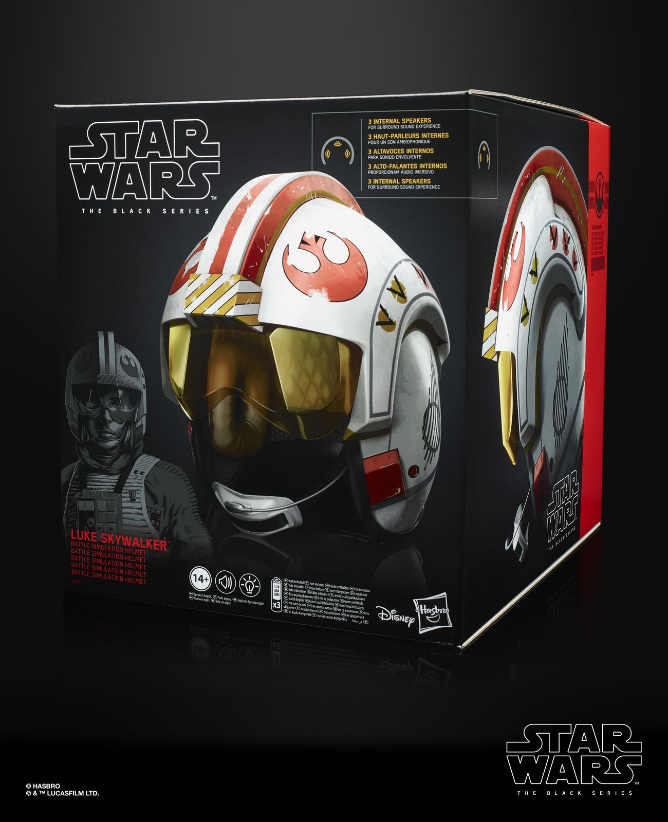 ANH Luke Skywalker's X-Wing Pilot Black Series Helmet