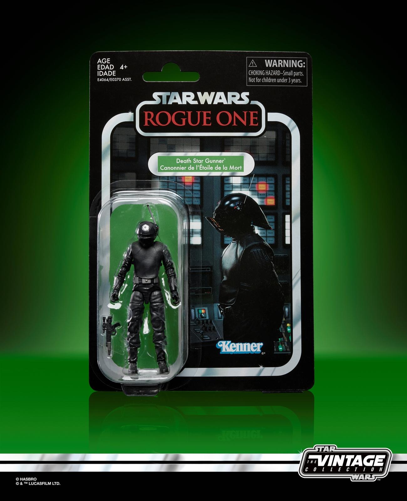RO Death Star Gunner Vintage Figur
