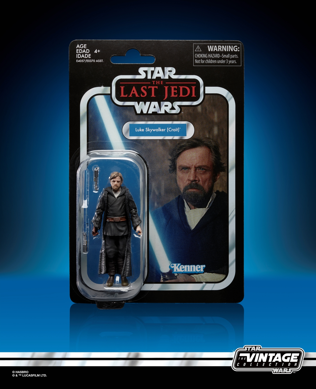 TLJ Luke Skywalker (Crait) Vintage Figure