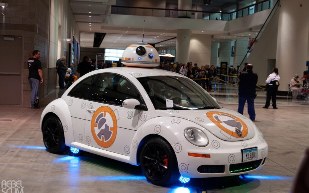 New Star Wars Celebration Chicago 2019 Car Vehicles Revealed!