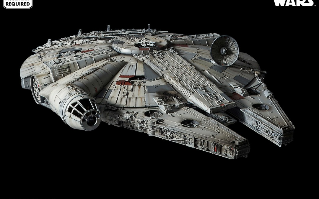 New Star Wars Millennium Falcon Model Kit available for pre-order!