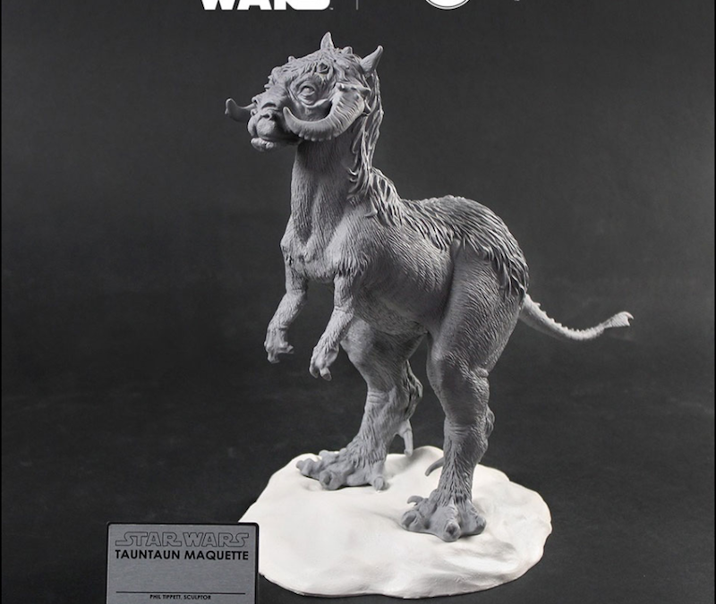 New Star Wars Tauntaun Maquette Figure available for pre-order!