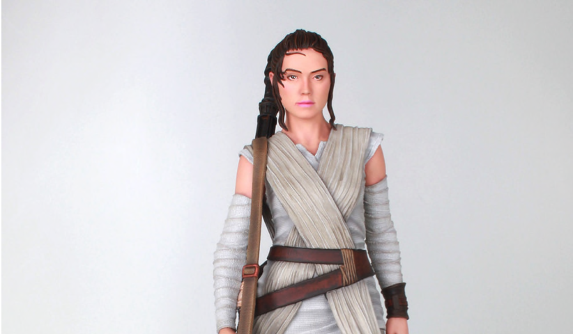 New Force Awakens Milestones Rey Statue available for pre-order!