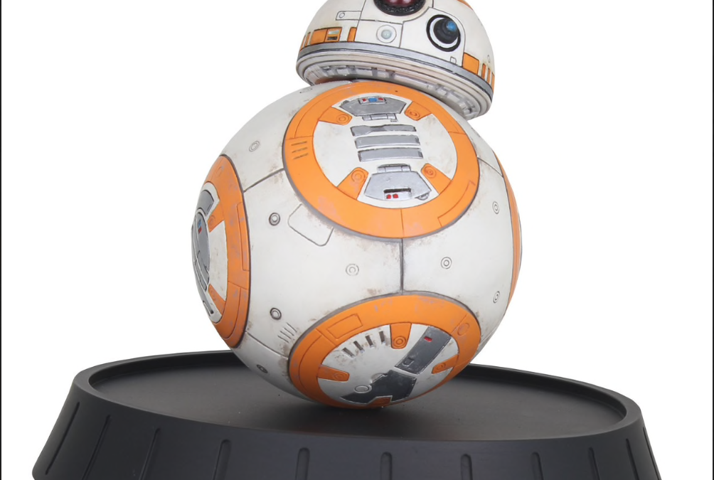 New Force Awakens Milestones BB-8 Statue available for pre-order!