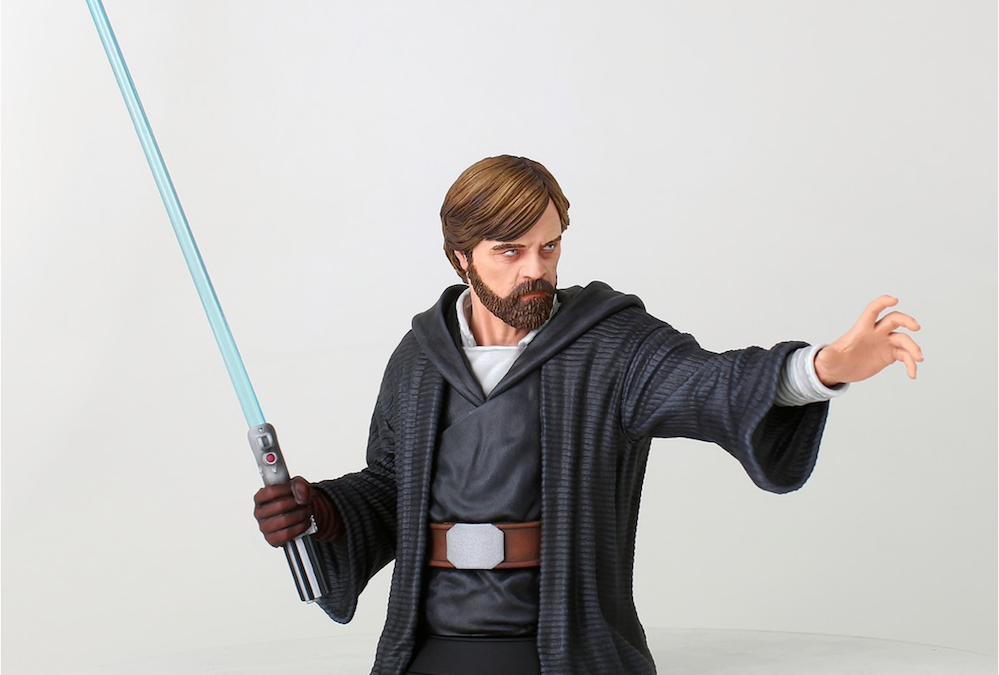 New Last Jedi Luke Skywalker (Crait) Mini Bust available for pre-order!