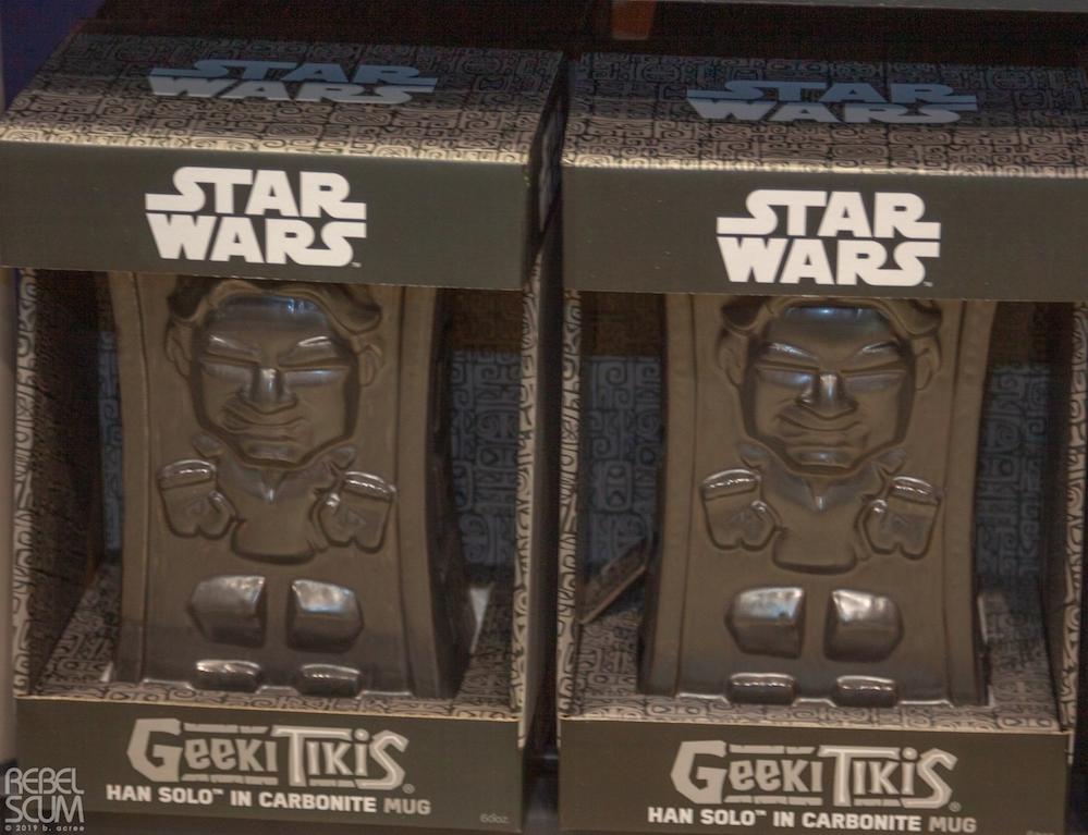 ROTJ Han Solo (in Carbonite) Tiki Mug