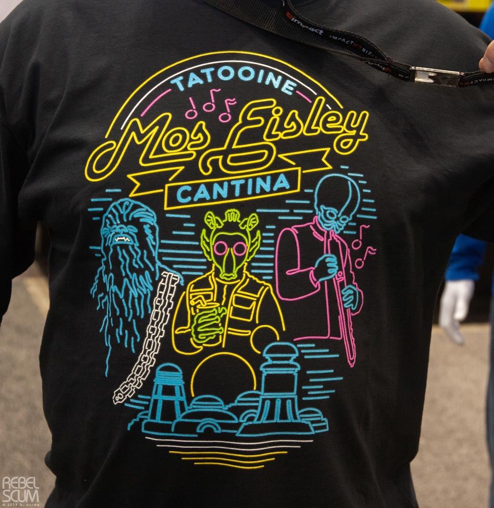ANH Tatooine Mos Eisley Cantina Love Sleeve Shirt