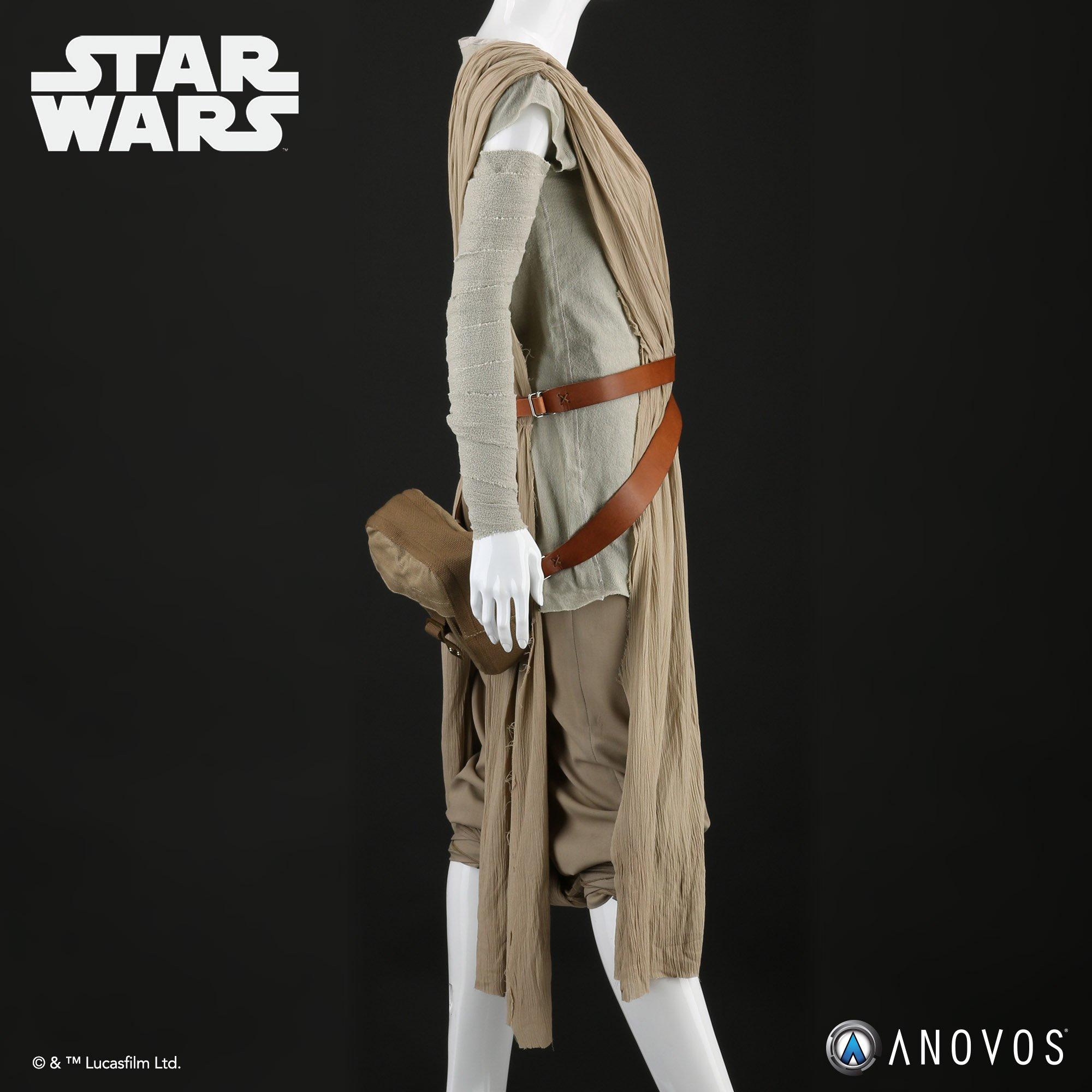 TFA Rey Scavenger Jakku Costume 2