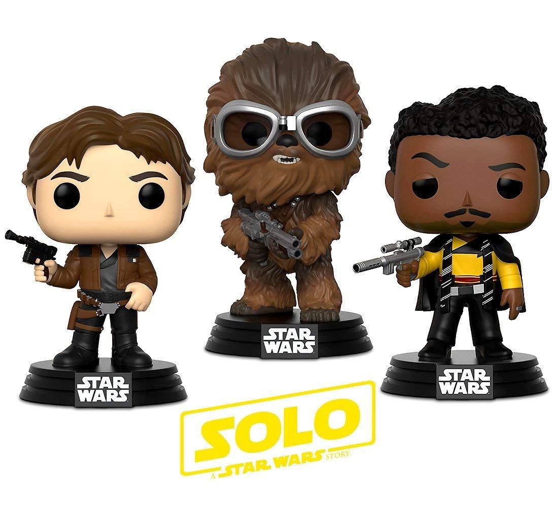Solo: ASWS FP Han, Chewie and Lando BHT Warp Gadgets Bundle