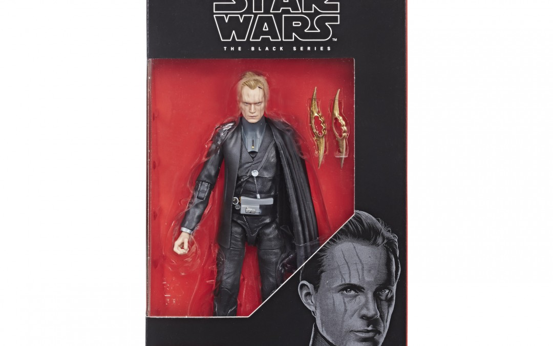 New Solo Movie Dryden Vos Black Series Figure now available!