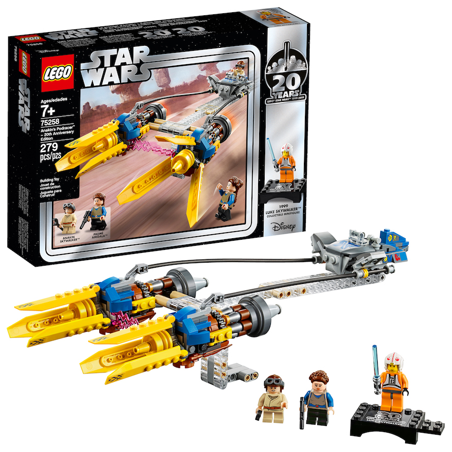 TPM 20th Anniversary Edition Anakin's Podracer Lego Set 1