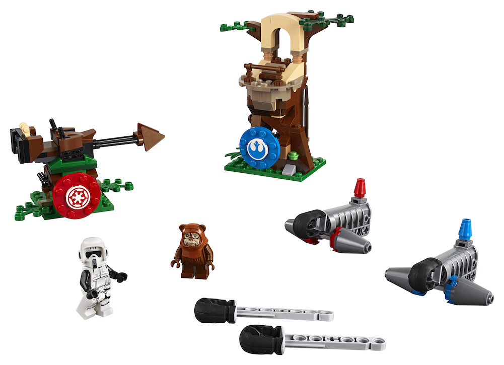 ROTJ Action Battle Endor Assault Lego Set 4
