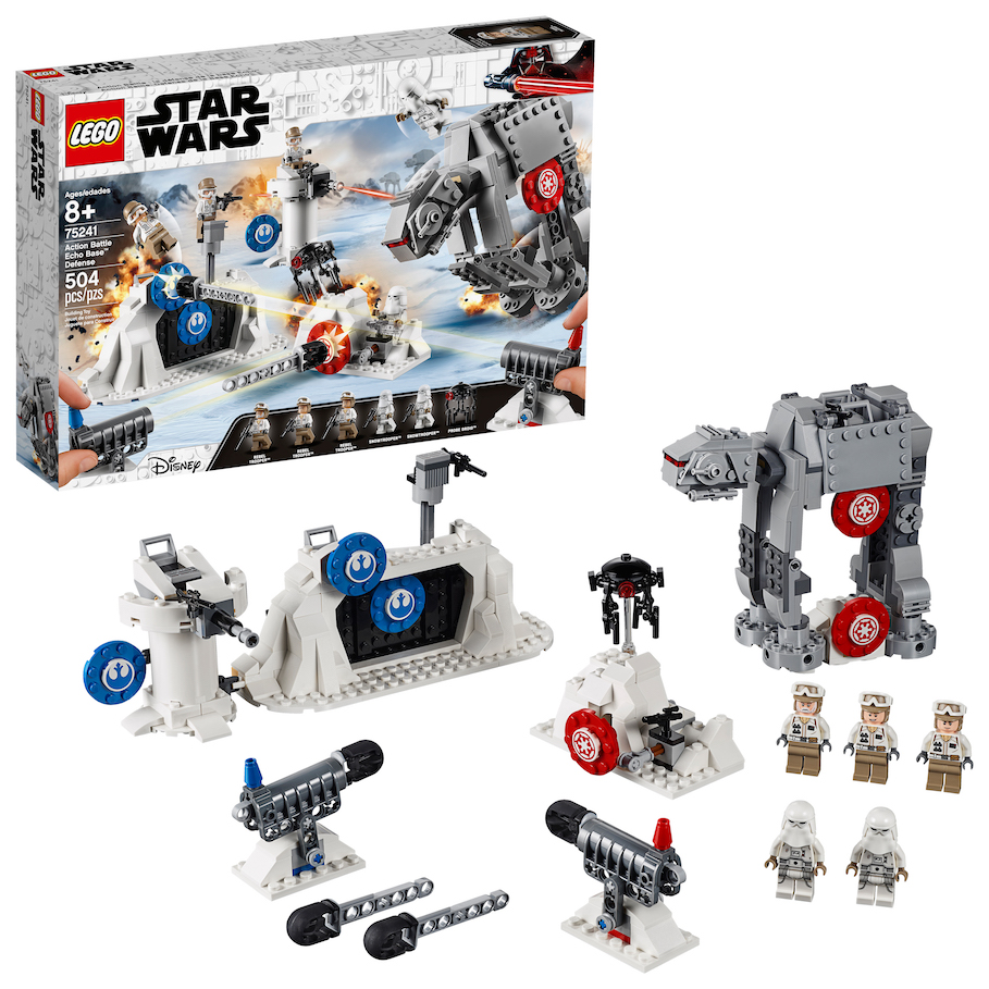 TESB Action Battle Echo Base Defense Lego Set 1