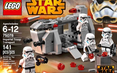 New Star Wars Rebels Imperial Troop Transport Lego Set now available!