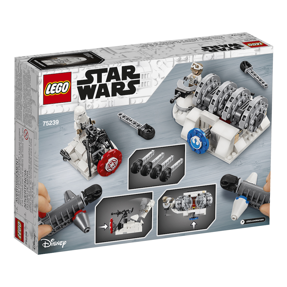 TESB Action Battle Hoth Generator Attack Lego Set 3