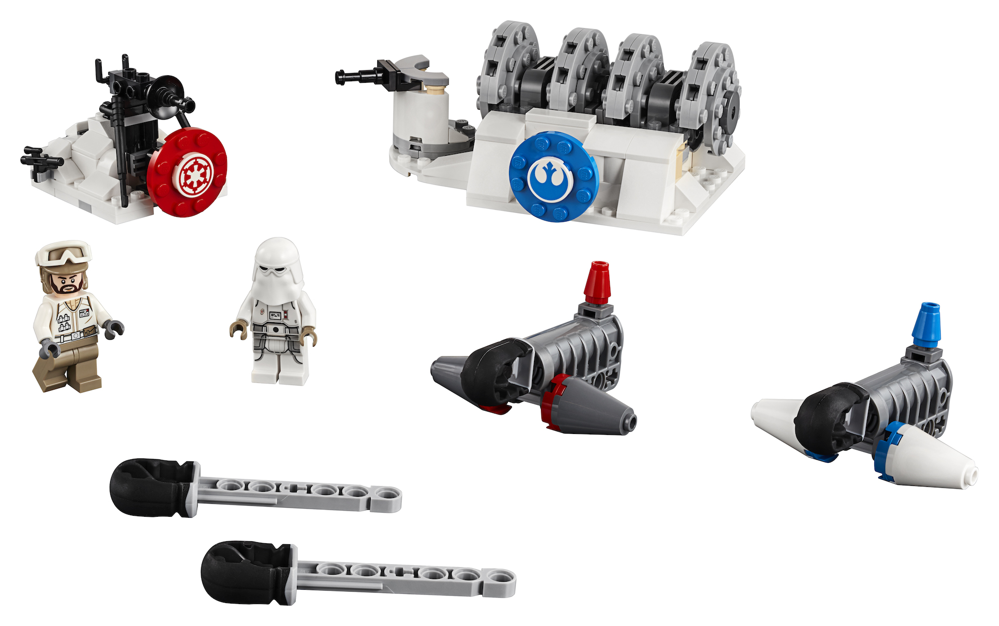 TESB Action Battle Hoth Generator Attack Lego Set 4