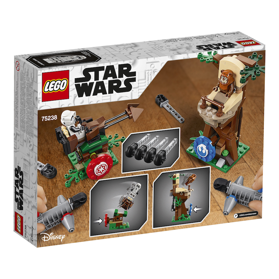 ROTJ Action Battle Endor Assault Lego Set 3