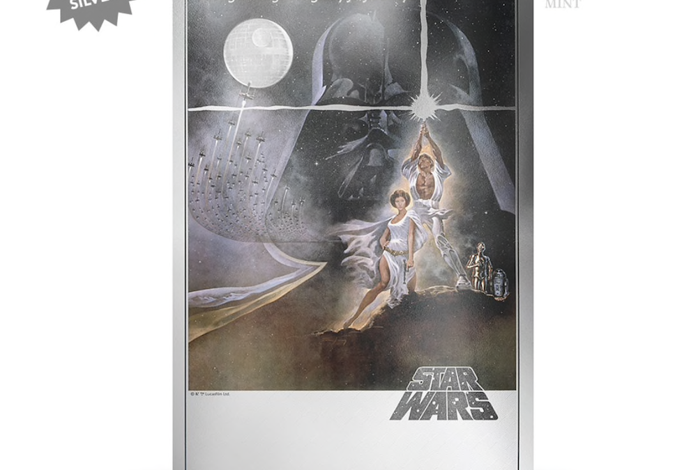 New A New Hope Silver Foil Movie Poster available for pre-order!