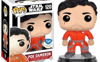 New Force Awakens Funko Pop! Poe Dameron Bobble Head Toy now available!