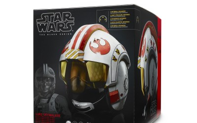 New A New Hope Luke Skywalker Battle Simulation Black Series Helmet available for pre-order!