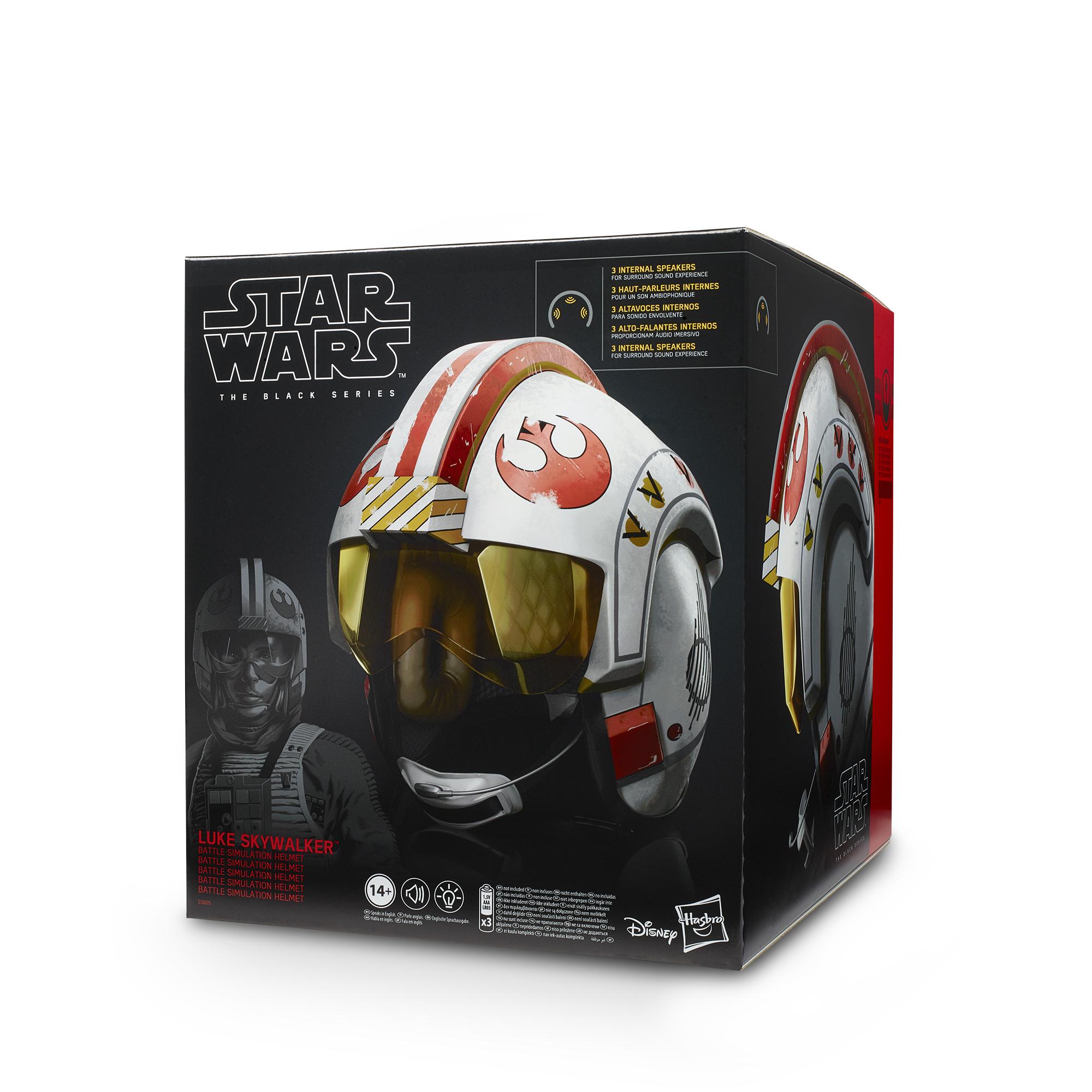 ANH Luke Skywalker Battle Simulation Black Series Helmet 1