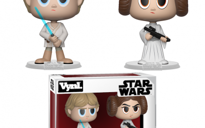 New A New Hope Funko Princess Leia & Luke Skywalker Vynl Figure 2-Pack now available!