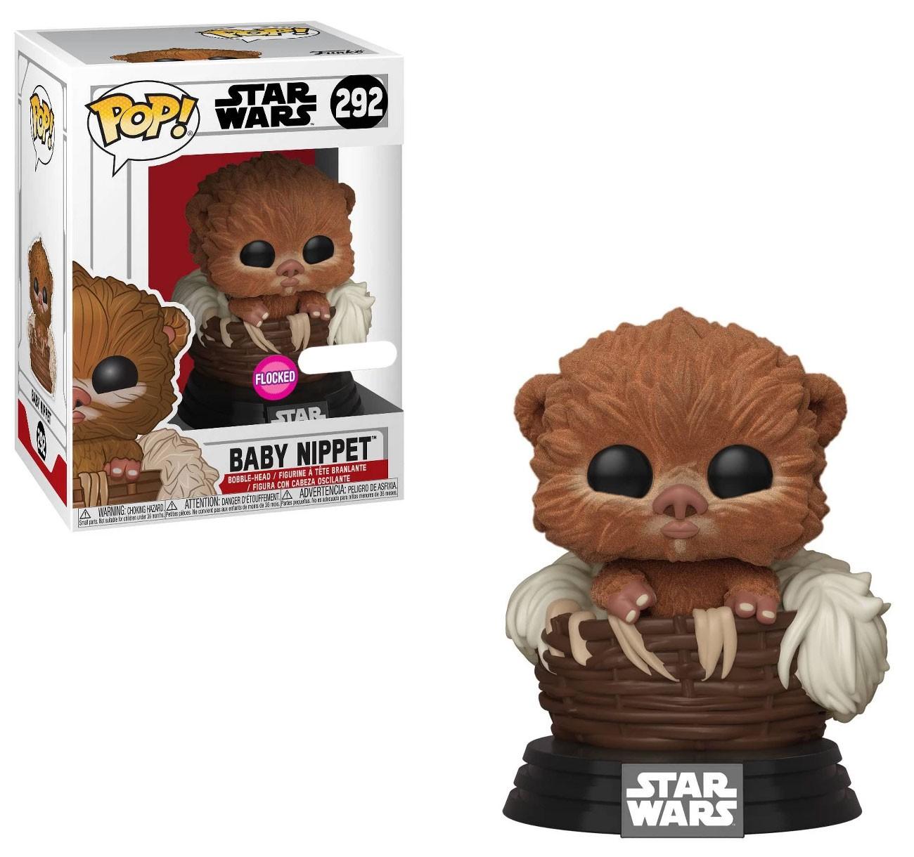 ROTJ Baby Nippet Flocked Funko Pop! Bobble Head Toy