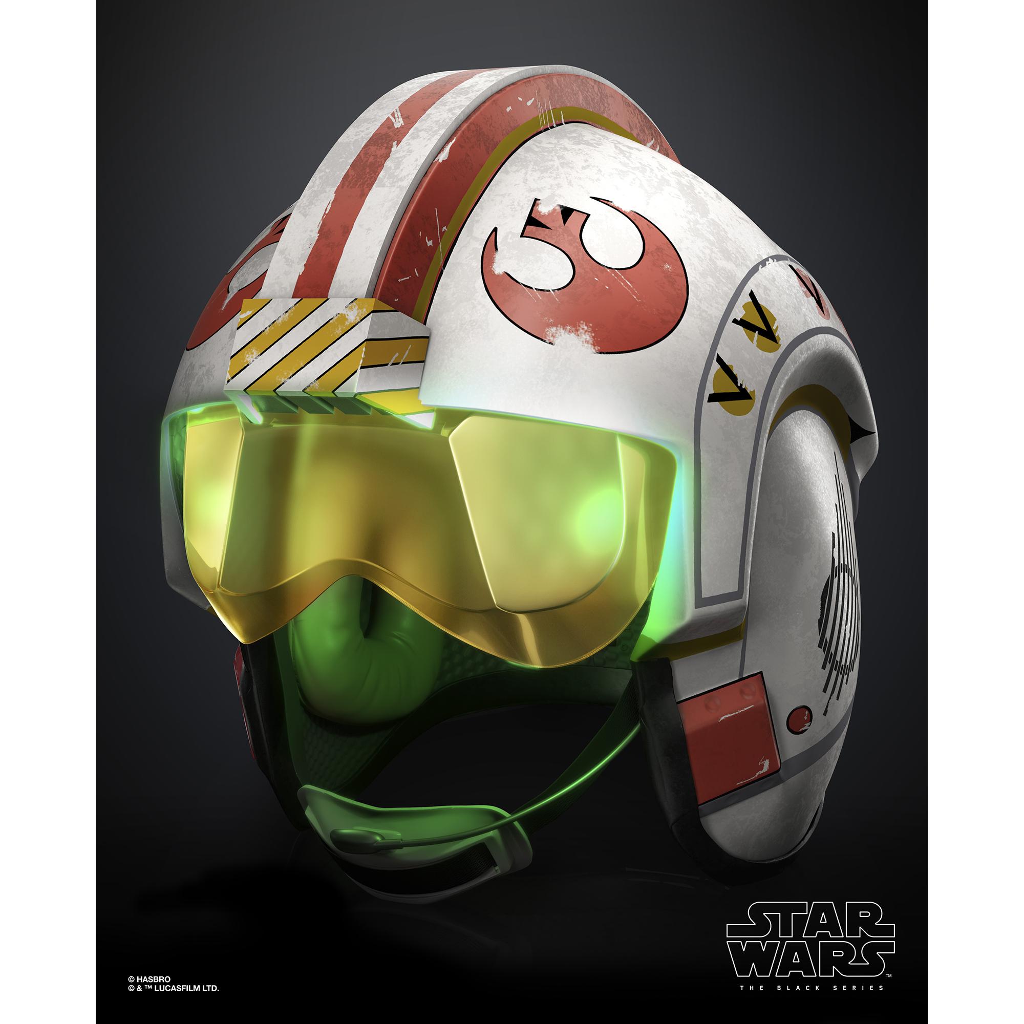 ANH Luke Skywalker Battle Simulation Black Series Helmet 4