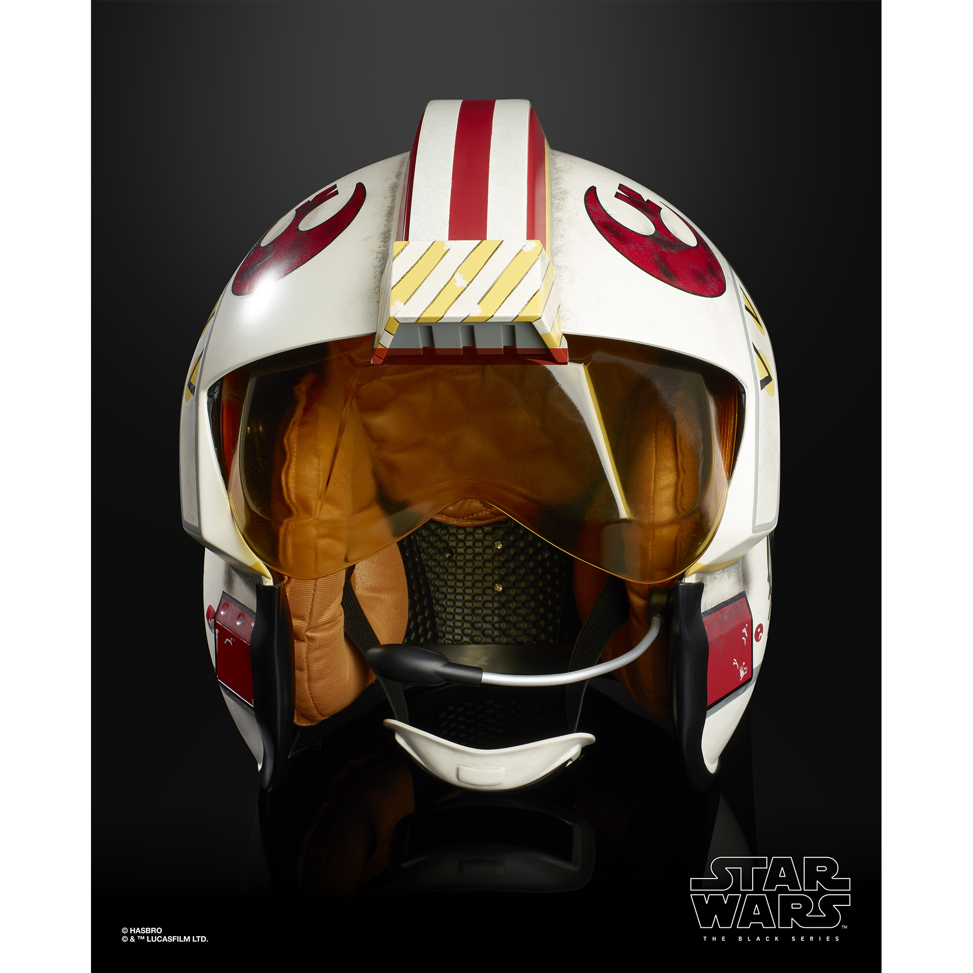 ANH Luke Skywalker Battle Simulation Black Series Helmet 2