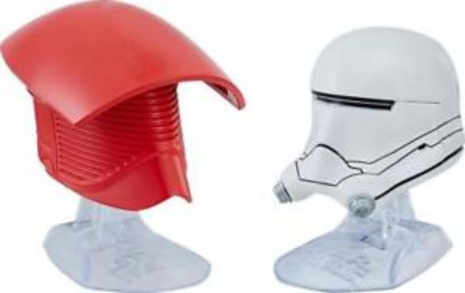 TLJ lite Praetorian Guard & Flametrooper Helmets Titanium Series 2