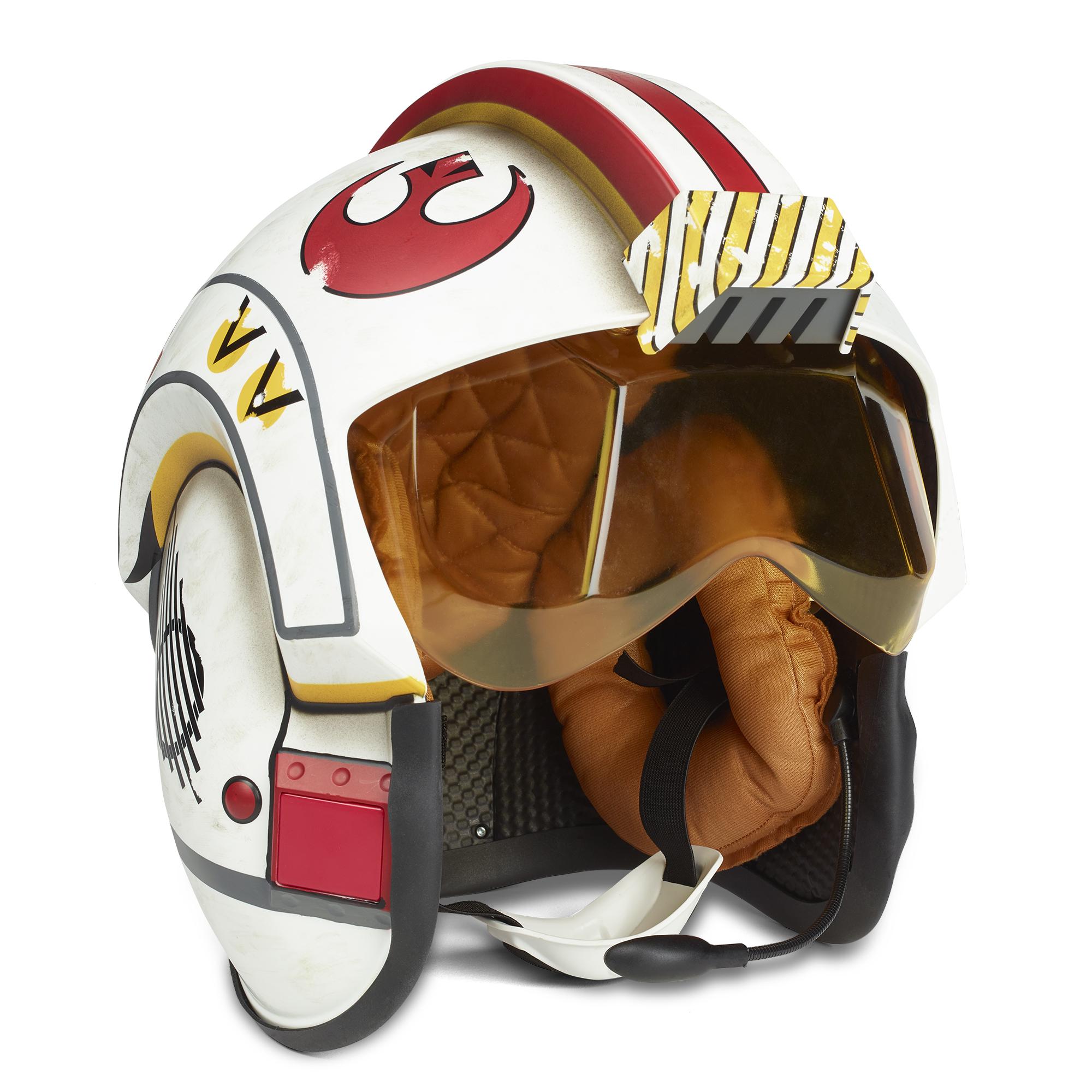 ANH Luke Skywalker Battle Simulation Black Series Helmet 3