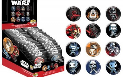 New Force Awakens Funko Pop! Buttons Mystery Pack now available!
