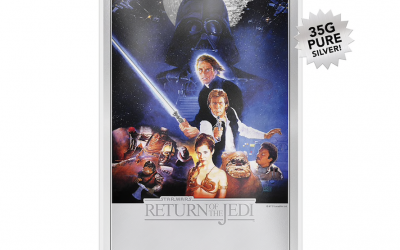 New Return of the Jedi Premium Silver Foil available for pre-order!