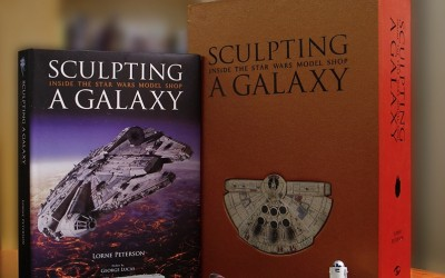 New Sculpting a Galaxy: Inside the Star Wars Model Shop Limited Edition Book available for pre-order!
