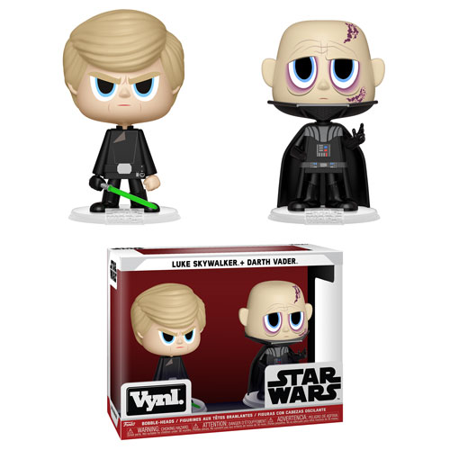 New Return of the Jedi Darth Vader & Luke Skywalker Funko Vynl Figure 2-Pack now available!