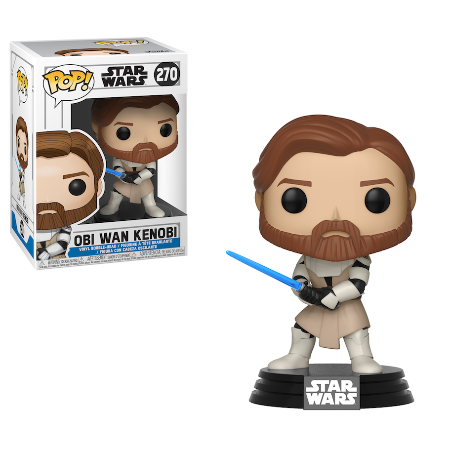 SWTCW FP Obi-Wan Kenobi Bobble Head Toy