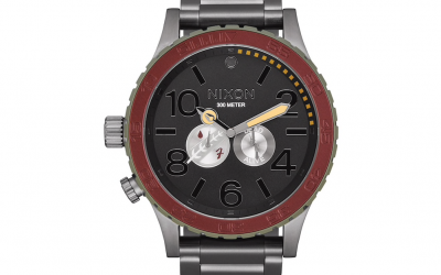 New Star Wars Boba Fett Red and Gray 51-30 Watch available for pre-order!