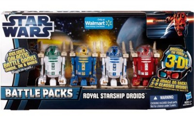 New Star Wars Royal Starship Droids Battle Pack now available!