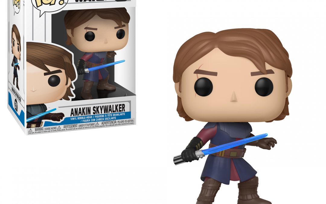 New The Clone Wars Funko Pop! Anakin Skywalker Bobble Head Toy now available!