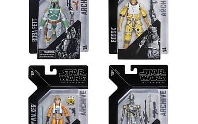 New Empire Strikes Back Black Series Figure 4-Pack Set now available!